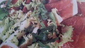 insalata al prosciutto