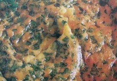 crostata al prezzemolo
