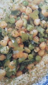 cuscus con verdure